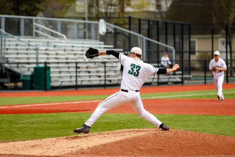 The Big Green lost two of three games this weekend to Cornell University, ending the season tied in last place in the Ivy League.