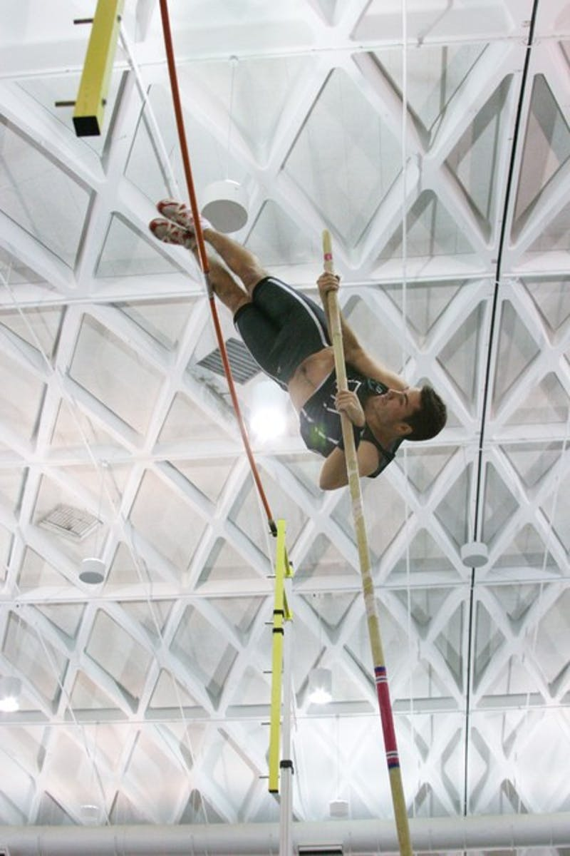 Ken DiCairano '10 placed first in men's pole vault at the Dartmouth Relays this weekend in Hanover.