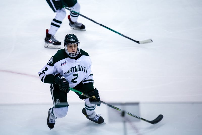 The men's hockey team finished 1-1 at the 30th Ledyard Classic, defeating Army 5-2 but falling to Providence 5-3.