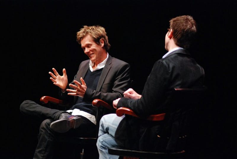 Kevin Bacon discusses his career after receving the Dartmouth film award.