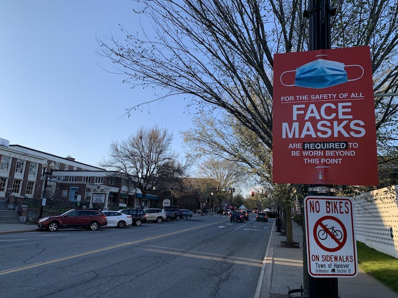 The town will continue to recommend indoor mask wearing.