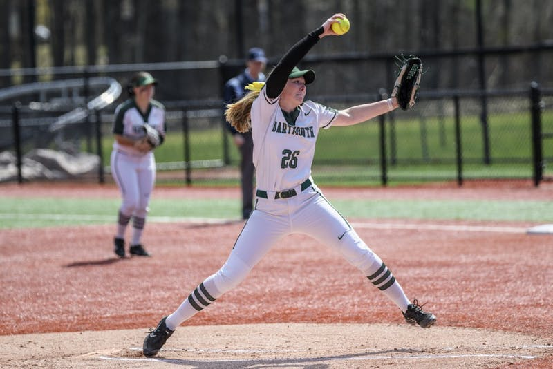 Pitcher Heather Turner '21 earned Second Team All-Ivy Honors last year and looks to have another strong season.
