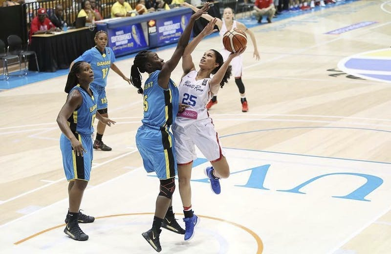 Over the summer,Isalys Quiñones '19 played on the Puerto Rican Women's National Team.