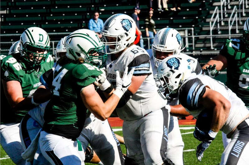 Dartmouth Big Green faces off against Columbia University's football team.
