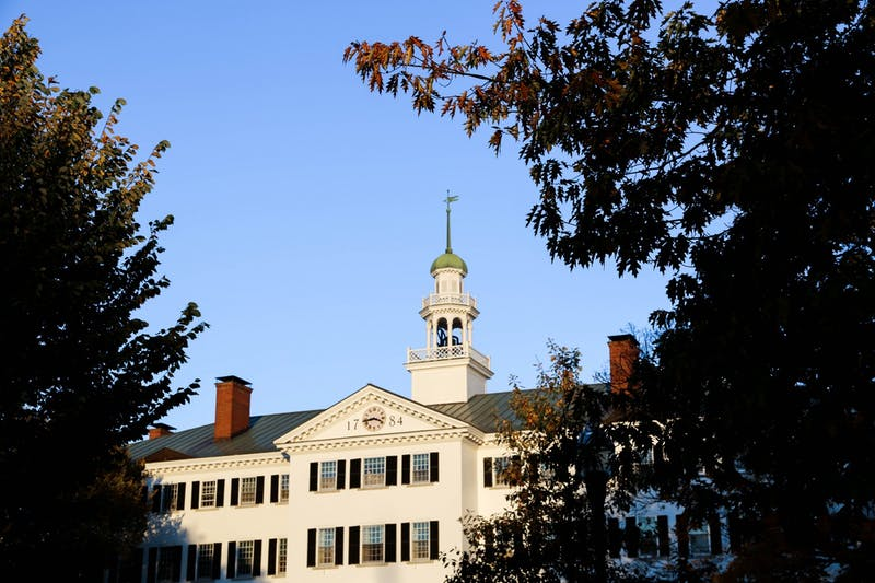 Dartmouth Hall Temporary Picture