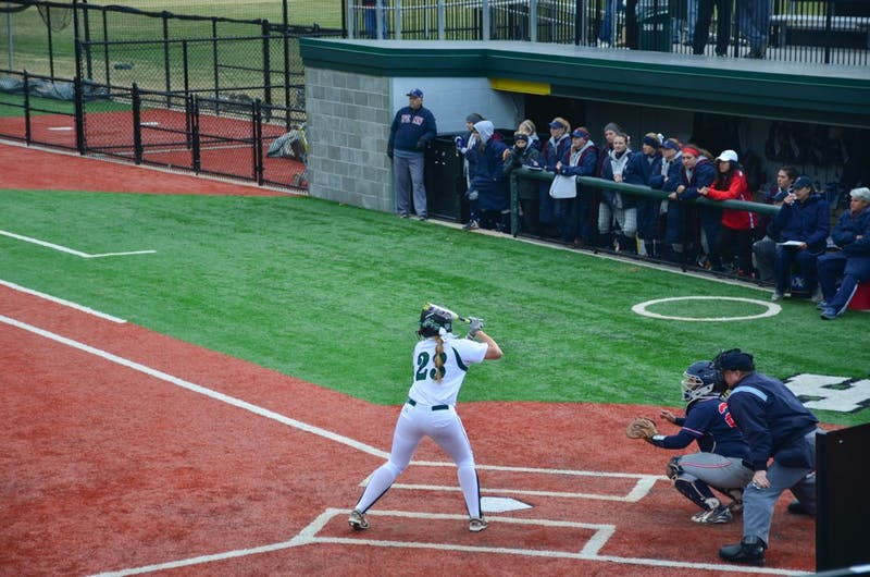 Softball pick up its first two losses in Ivy League play this past weekend against Yale University.