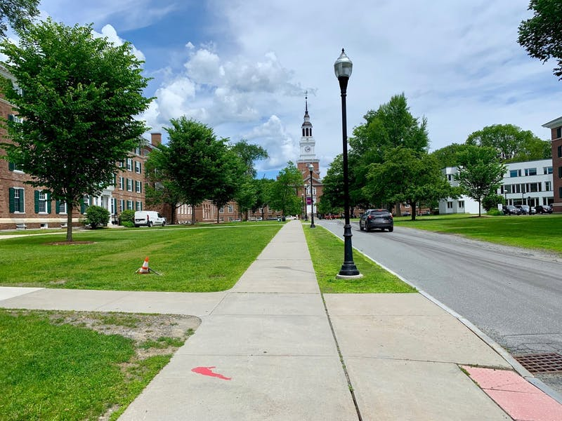 Fahey and McLane Halls on Tuck Drive were two of the most recent dorm buildings to open — in 2006.