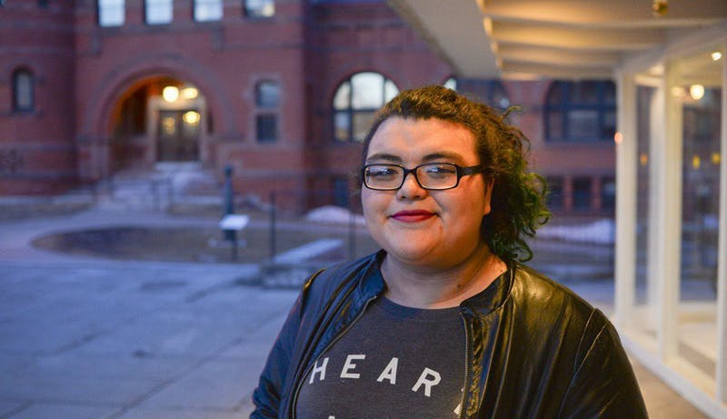 Charli Fool Bear-Vetter '15 was first runner-up in the Yale Indigenous Performing Arts Program playwriting contest.