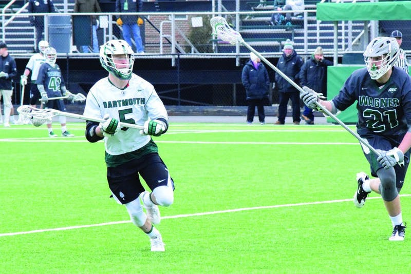 Ben Martin '20 put in four goals against Wagner University, including the go-ahead marker, and now leads the team with nine.