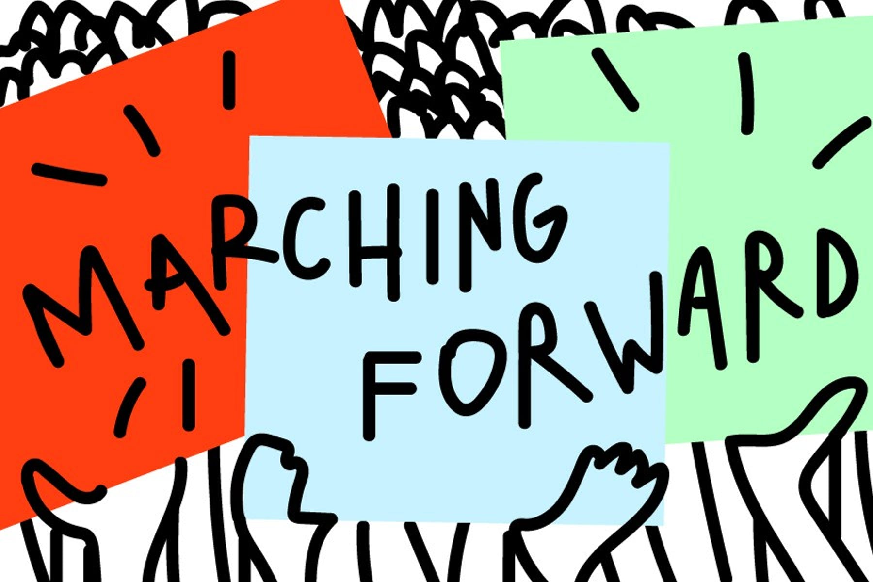 marching-forward