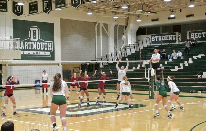 The volleyball team lost to the University of Pennsylvania on Friday before beating Princeton University the next day.