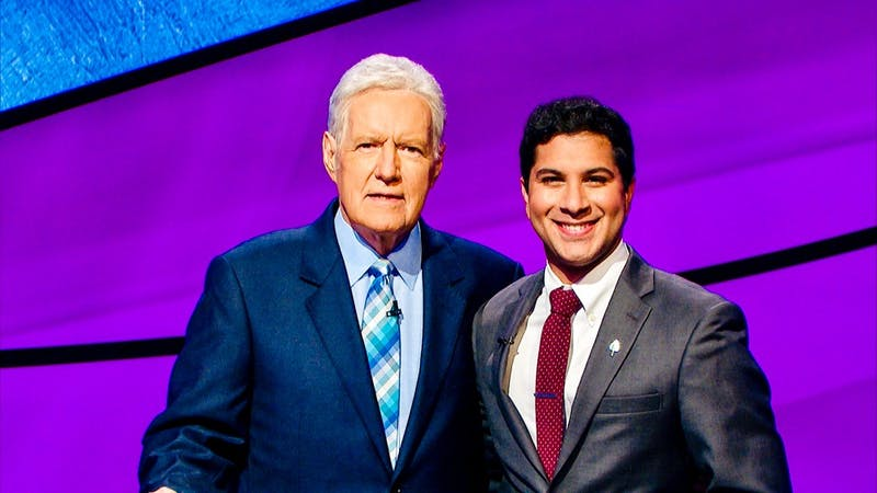Namburar, a second-year medical student at Geisel, appeared on Jeopardy! in November and won his first game.