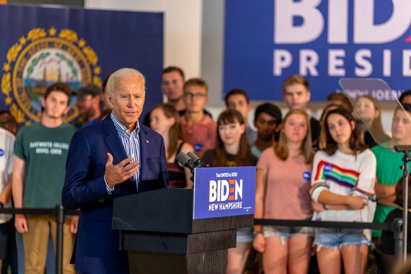 The Dartmouth Editorial Board endorses former Vice President Joe Biden for president of the United States.