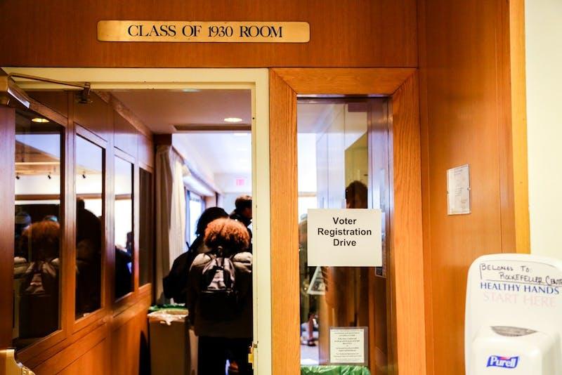 Student Assembly hosted voter registration drives on Nov. 13 and Jan. 22.