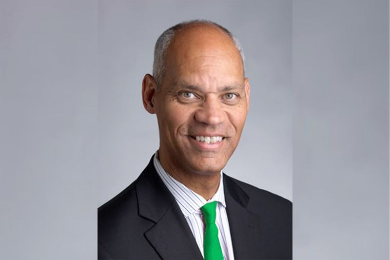 Peter Roby '79, a former Big Green basketball player and athletics director at Northeastern University, took over the Dartmouth athletics department in February.