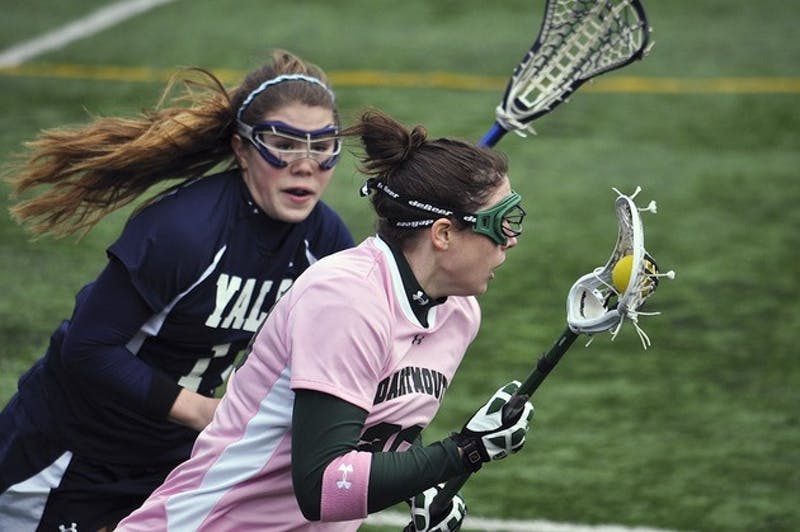 The women's lacrosse team will head to Harvard University on Friday with a chance to clinch home field advantage in the Ivy League Tournament.