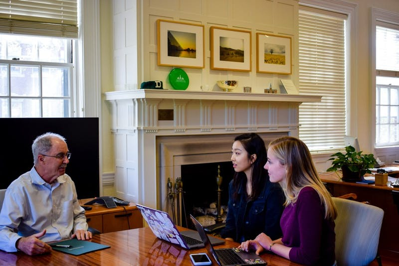 The Dartmouth sat down with Hanlon to discuss a variety of campus topics.