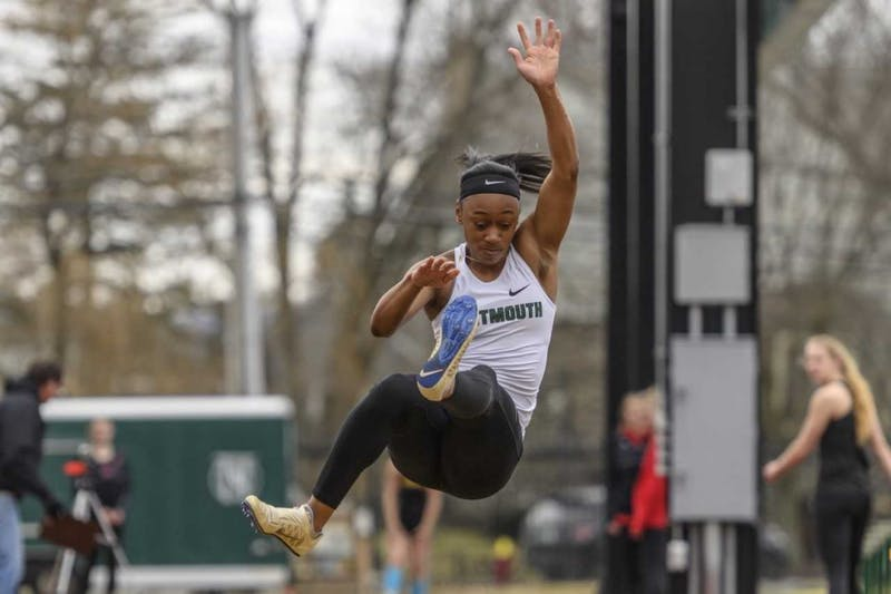 Cha'Mia Rothwell won the 100m hurdles at Heps to qualify for the NCAA Eastern Regionals later this month.