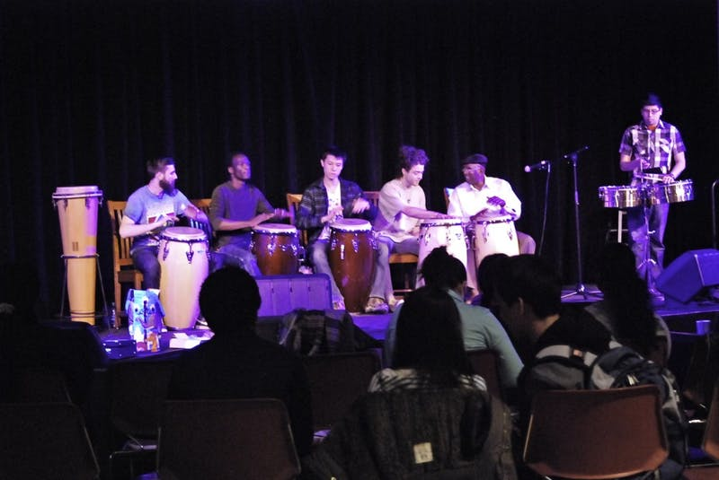 """Dartmouth musicians welcomed the Nile Project at """"Sing Africa!"""""""