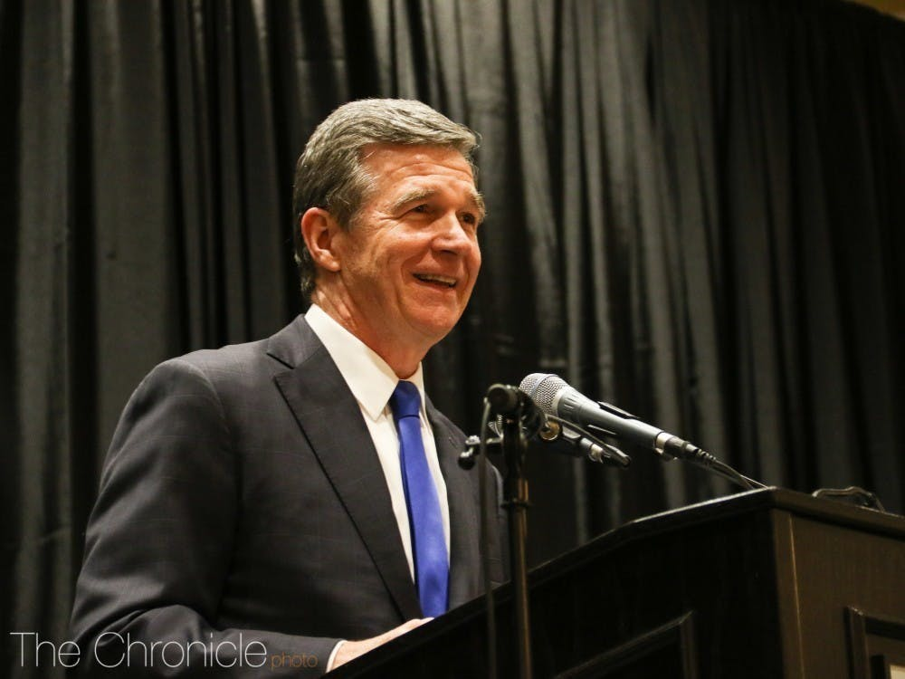 <p>Gov. Roy Cooper announced Wednesday that North Carolina would move into Phase 3 of reopening Friday at 5 p.m.</p>