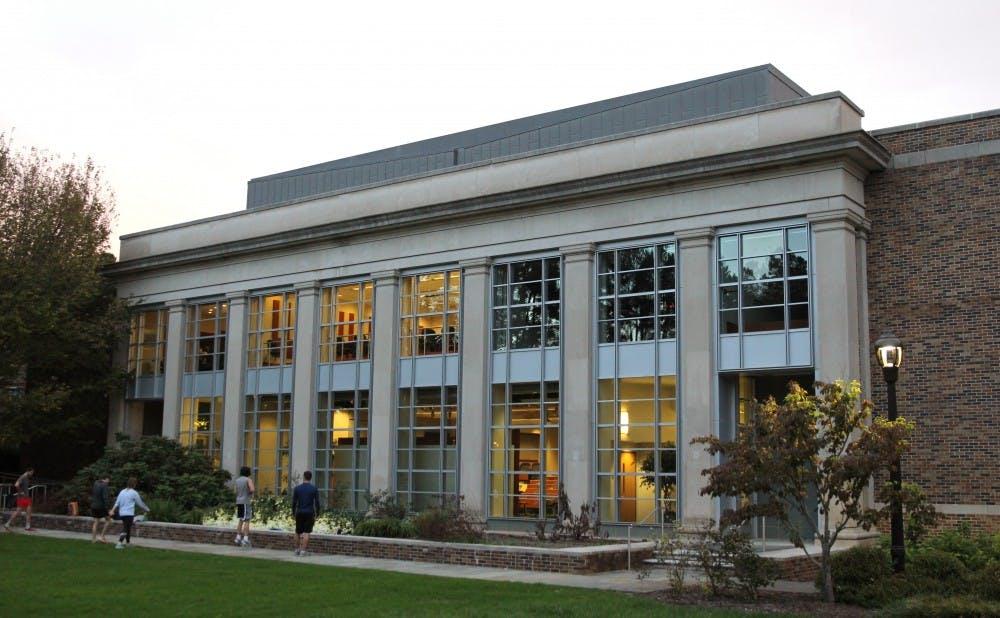 <p>The Duke Law School.</p>