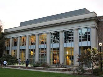 The Duke Law School.