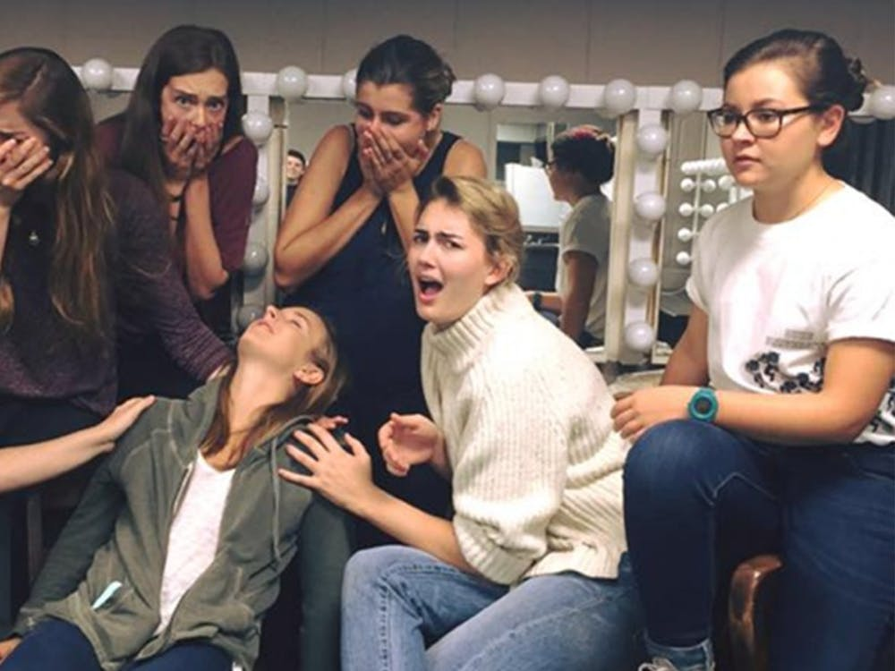 """Inside Joke performed its last show of the semester, """"Milk That Cow: Unpasteurized Newbies,"""" on Sunday."""