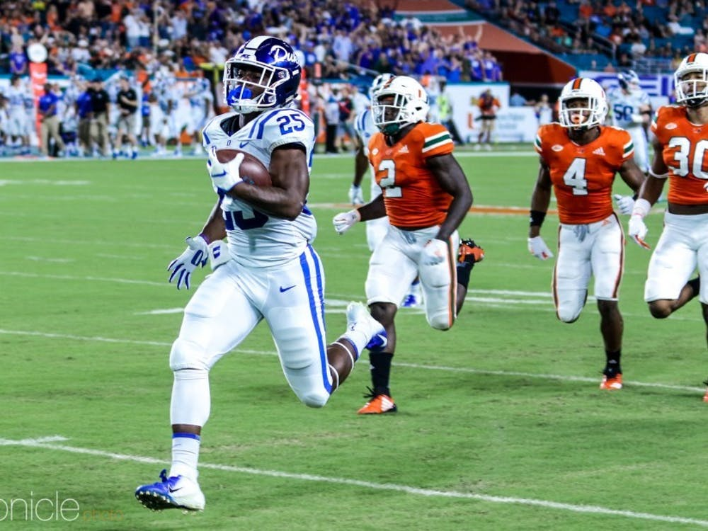 A preseason All-ACC selection, Deon Jackson will be the focal point of Duke's offense this fall.