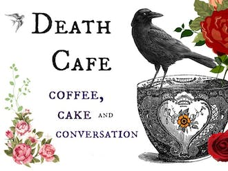 "Death Café is a place to ""gather to eat cake, drink tea and discuss death."""