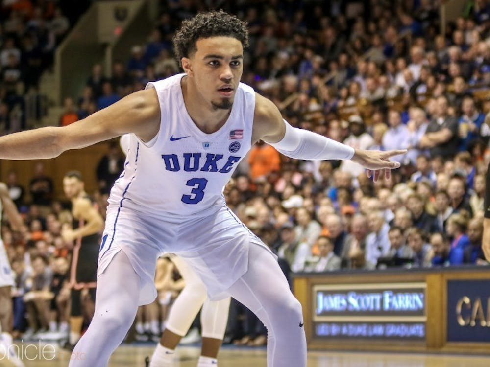 Duke's defense, spearheaded by point guard Tre Jones, may have to carry the team this season