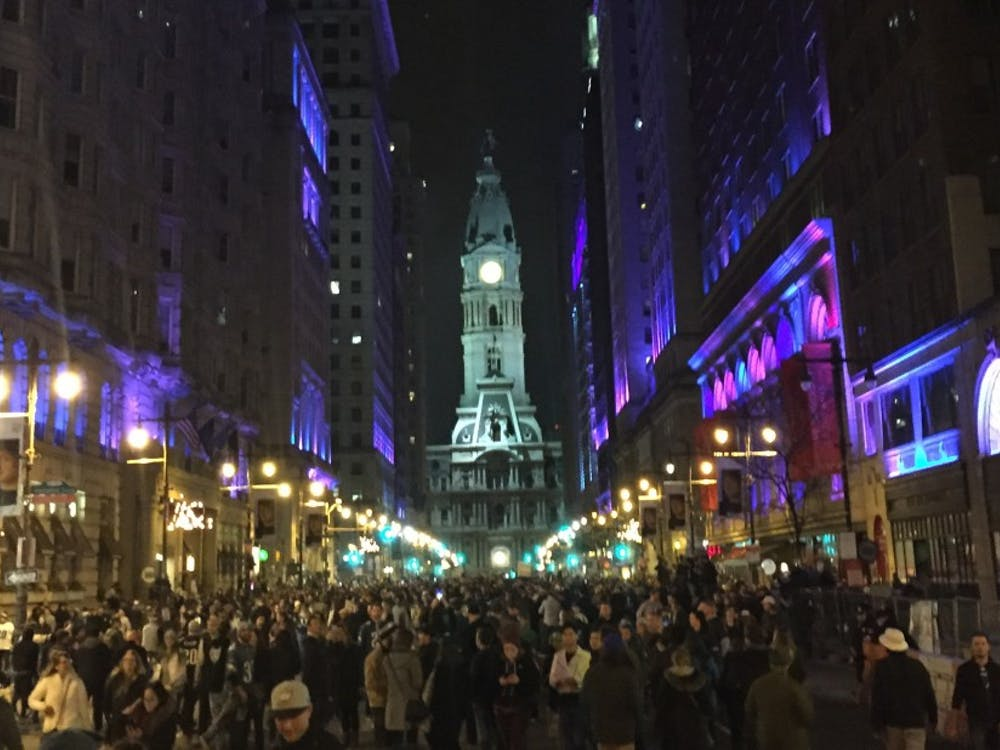 The streets of Philadelphia were packed with Eagles fans Sunday night.