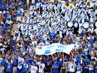 With the right stadium playlist, the student section at Wallace Wade could provide the Blue Devils with an even louder home field advantage.