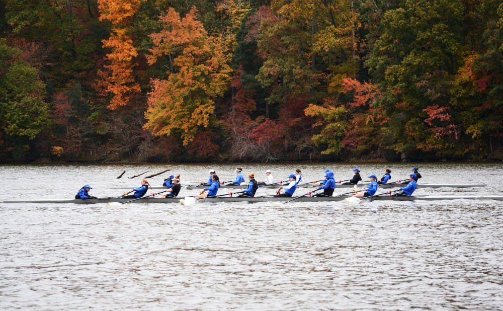 <p>Duke's varsity eight boats will aim to bounce back from losses to Stanford and UCLA last month, but will have to do so against No. 3 Virginia Saturday.</p>