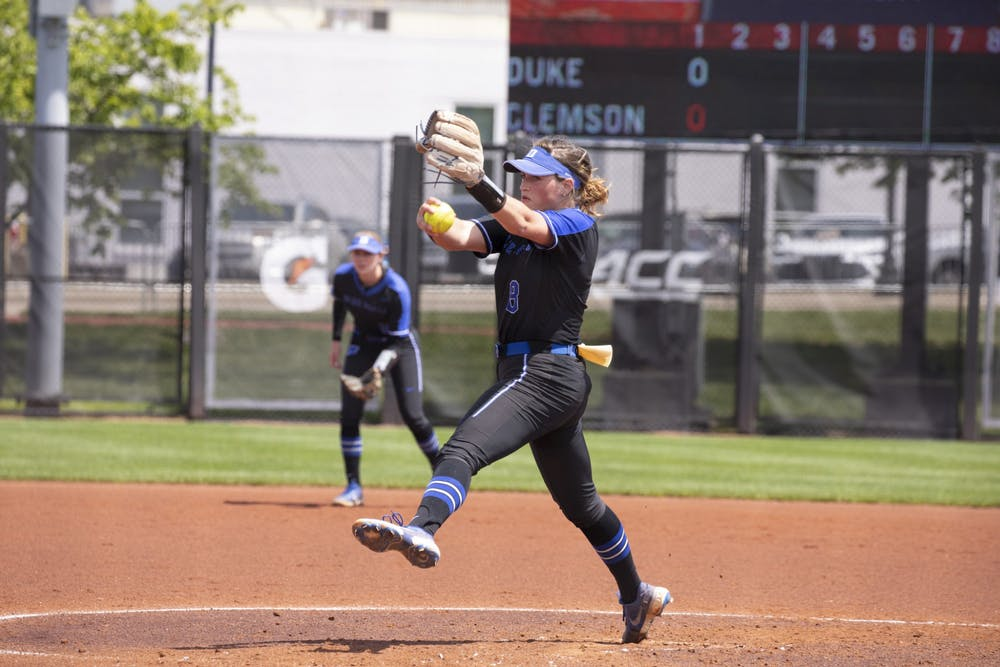 Shelby Walters threw 5.0 scoreless innings in the ACC Championship game to help lead Duke to the title