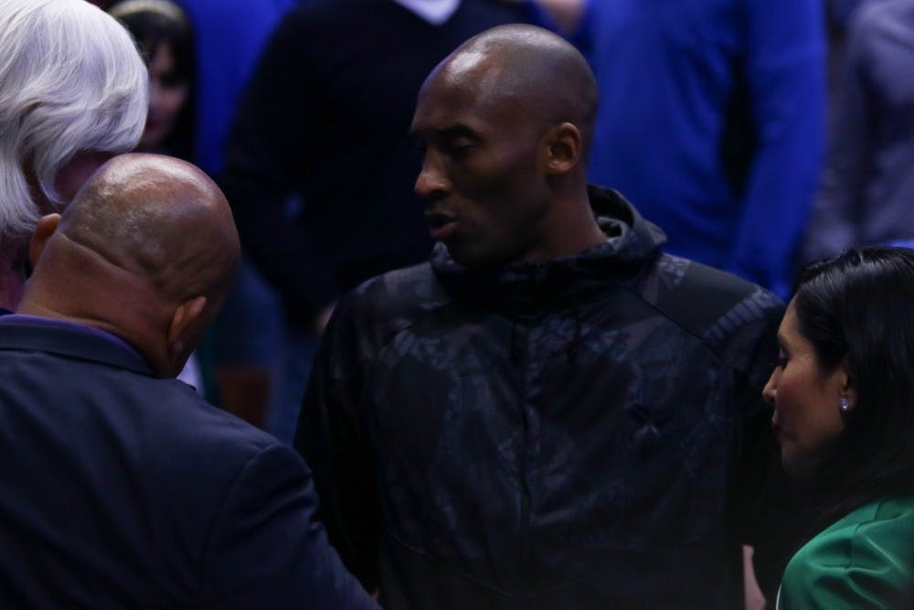 <p>Bryant attended Duke's Sweet 16 matchup against Oregon in 2016.</p>
