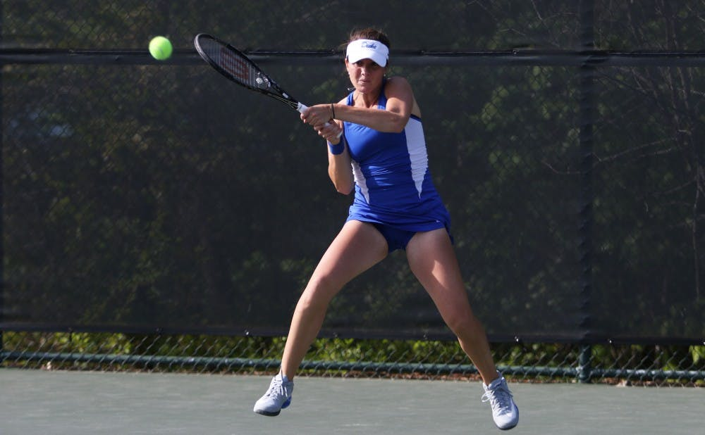 Ester Goldfeld and the Blue Devils will travel to Athens, Ga., for the opening weekend of the NCAA tournament.