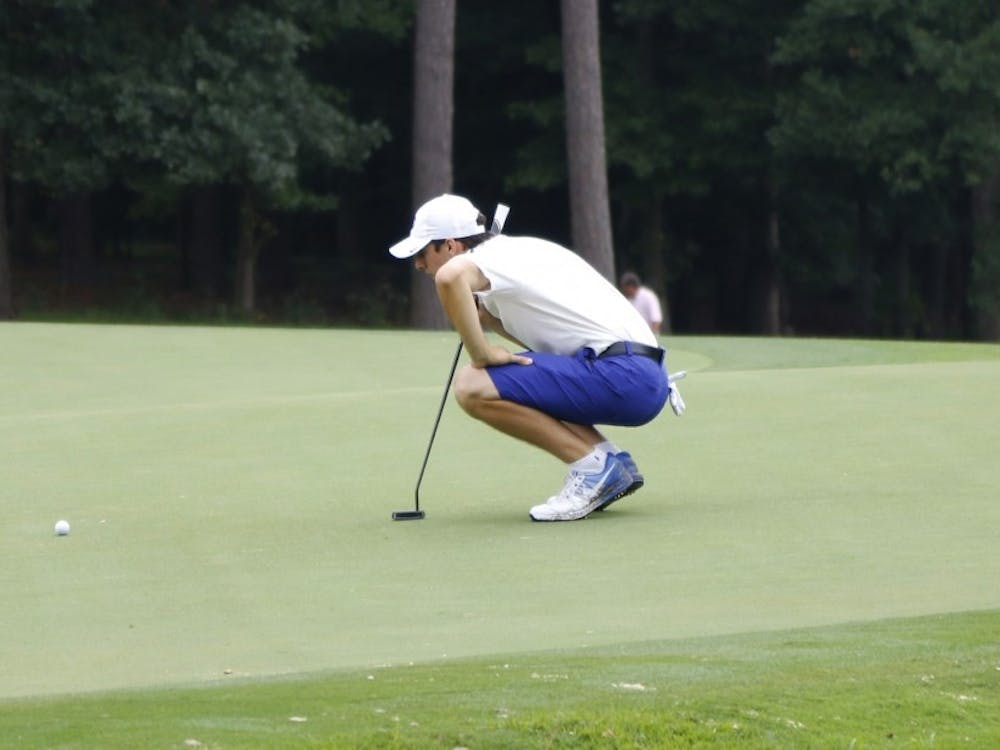 Sophomore Alex Smalley and the Blue Devils are hoping to card three consistent rounds for the first time this season.