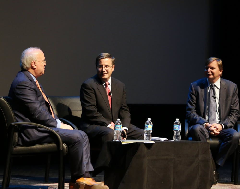 <p>The event, which was moderated by Peter Feaver, focused on how the United States will move forward after the 2016 election.</p>