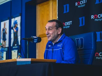 Head coach Mike Krzyzewski spoke on a wide variety of topics during his opening press conference of the 2021-22 season.