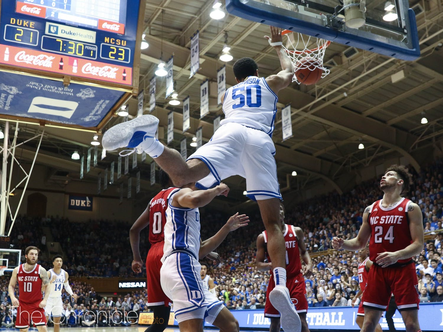 Normally Duke's 11th man, Justin Robinson played a critical role against N.C. State.