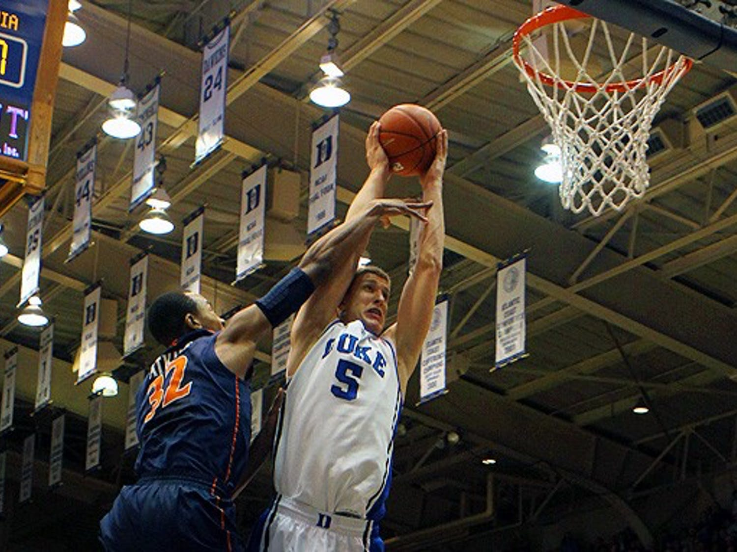 The Blue Devils were victorious Thursday night in Cameron Indoor Stadium.