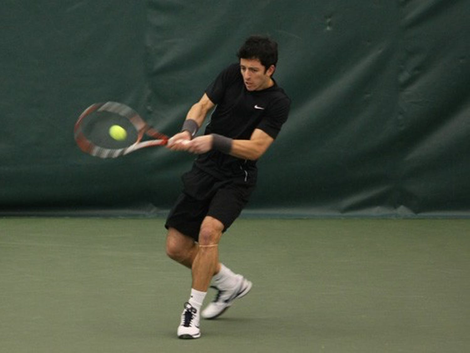 Henrique Cunha suffered his first loss in over a year Saturday, falling to No. 1-ranked Rhyne Williams.