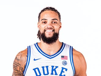 Theo John comes to Duke after four years at Marquette.