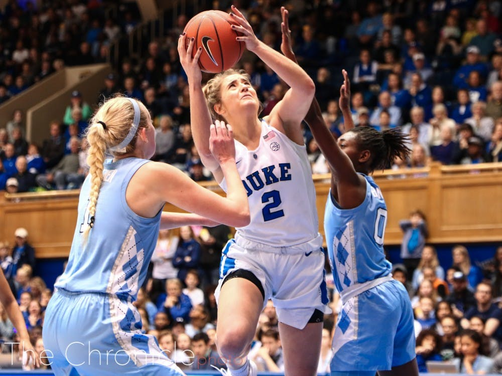 Duke's leader on the court, Haley Gorecki and the Blue Devils are just three weeks away from game action.