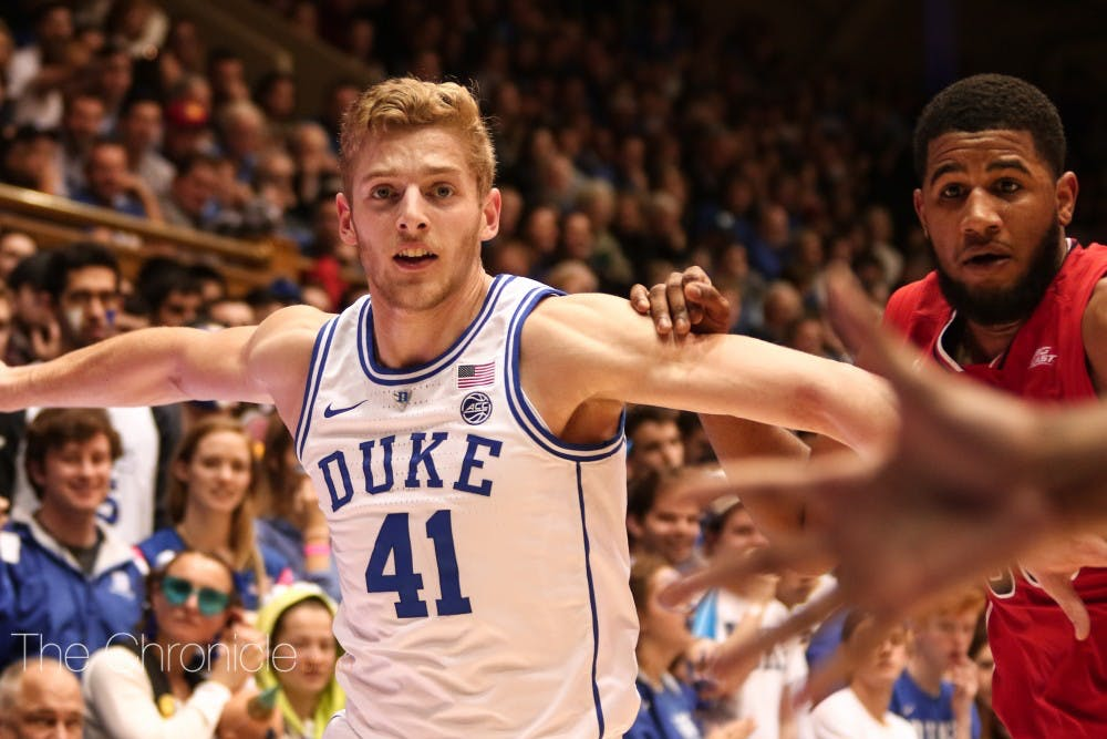 <p>Jack White went scoreless against St. John's, but needs to get back in the groove if Duke wants to stay dominant.</p>