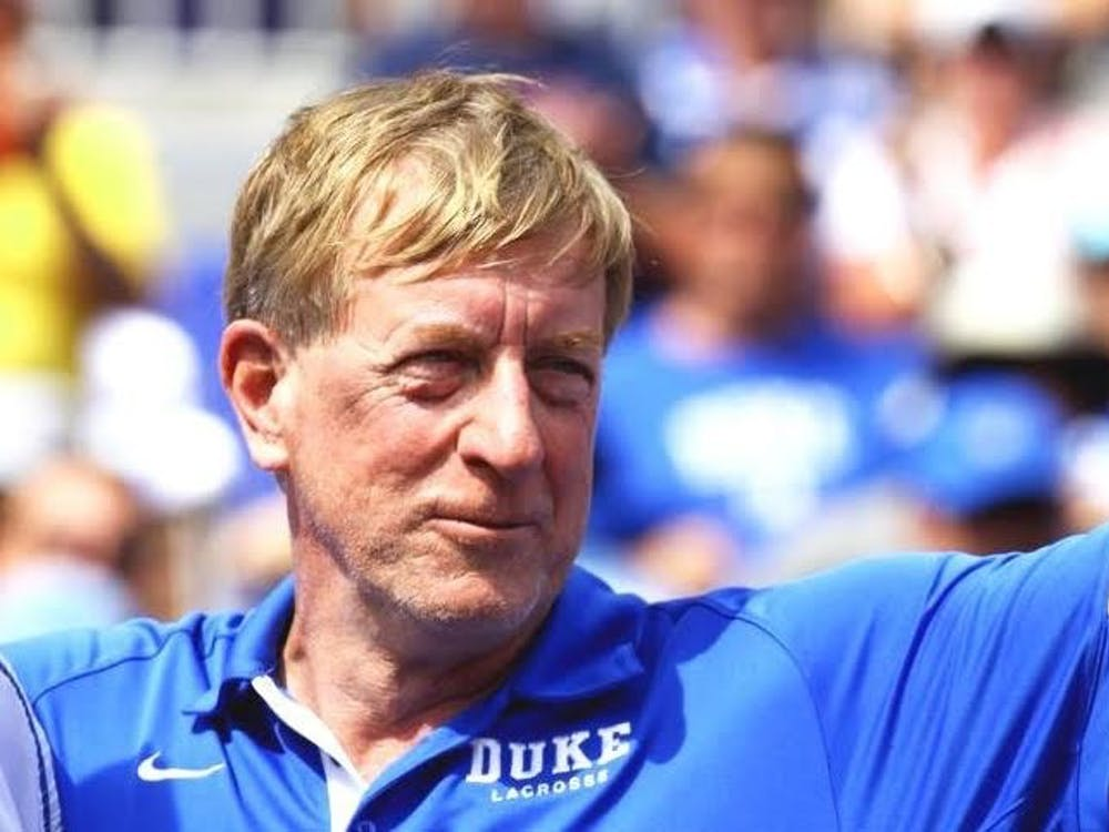 Duke head coach John Danowski led the Blue Devils to eight straight Final Fours from 2007 to 2014, including three national championships.