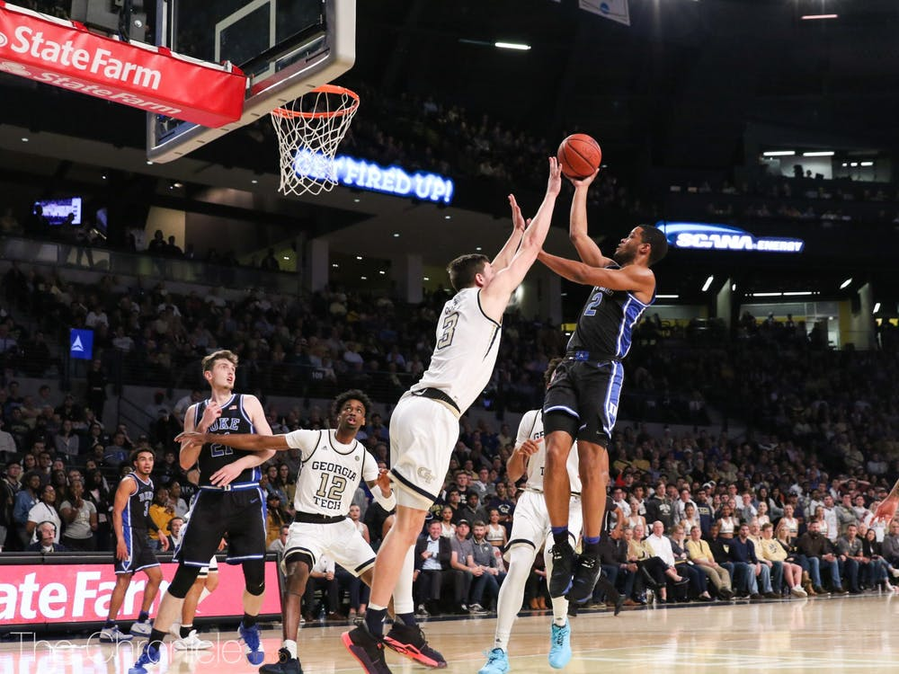 <p>Cassius Stanley was pivotal in the Blue Devils' victory Wednesday night.&nbsp;</p>