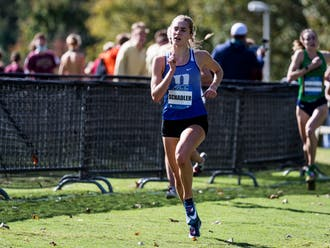 Sophomore Samantha Schadler finished in 10th place for the women's team and was one of three Duke runners to take home All-ACC honors.