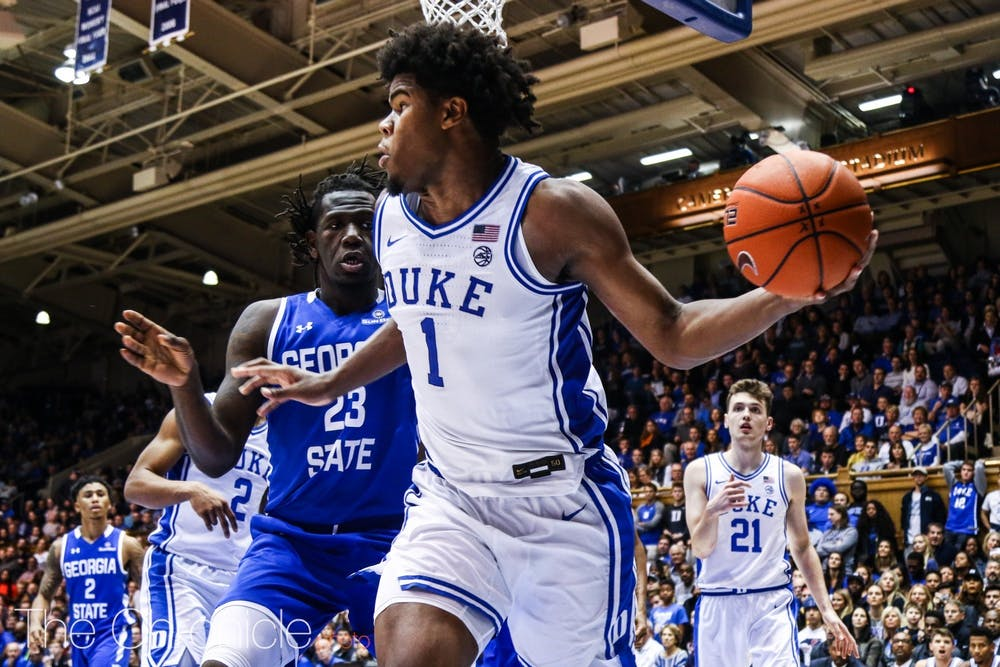 Vernon Carey Jr.'s ability to pass out of the post will be key for Duke.