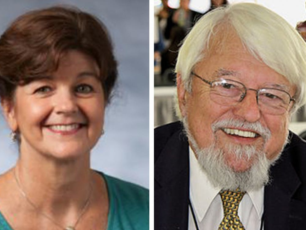 Nancy MacLean (left) and William Chafe (right) both hold endowed professorships in history.